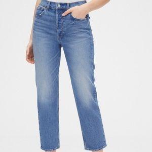 NWT GAP Cheeky Straight Jeans